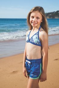 Girl`s medallions shortie boardie upf50+