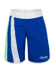 Girl`s medallions long boardshort upf50+