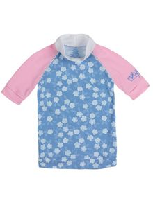 Girls UPF50+ sunshirt