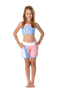 Girls UPF50+  Lace Long Boardshort