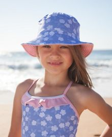Girls UPF50+ bucket hat