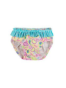 Girls UPF50+ Paisley Baby Brief