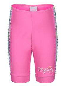 Platypus Australia Girls UPF 50+ Paisley Bike Short