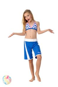 Platypus Australia Girls UPF50+  Mosaic Long Boardshort