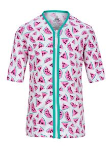 Platypus Australia Girls UPF 50+ Watermelon Sun Jacket SS