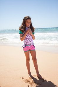 Platypus Australia Girls UPF50+  Watermelon Lycra Boardie