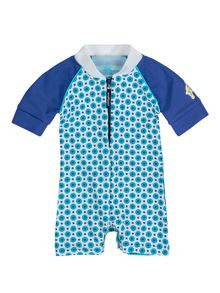 Baby boys UPF50+ baby sunsuit