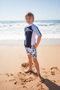 Boys UPF50+  Azure Swim Short