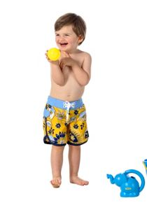 Boys UPF50+ slim boardshort