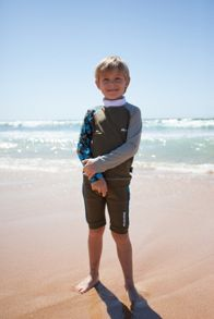 Boys UPF50+ sunshirt