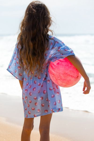 Platypus Australia Girls Seashells Sundress