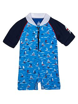Boys UPF50+ Regatta Baby Sunsuit