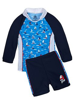 Boys UPF50+ Regatta LS Baby Sunset