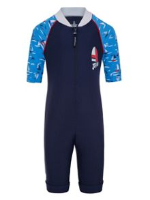 Platypus Australia Boys UPF50+ Regatta Sunsuit