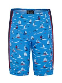 Platypus Australia Boys UPF50+ Regatta Bike Short