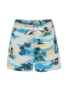 Platypus Australia Boys UPF50+ Retro Hawaii Swim Short