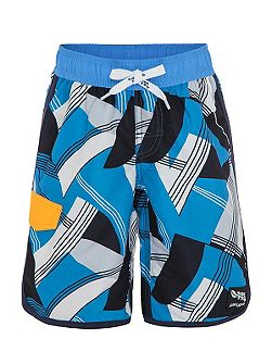Boys UPF50+ Retro Hawaii Slim Boardshort