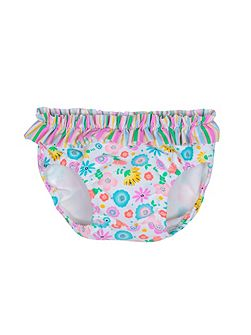 Girls UPF50+ Bloom Baby Brief