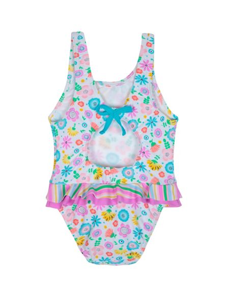Platypus Australia Girls UPF50+ Bloom Baby Swimsuit