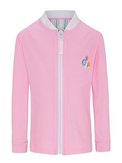 Girls UPF50+ Bloom LS Sun Jacket