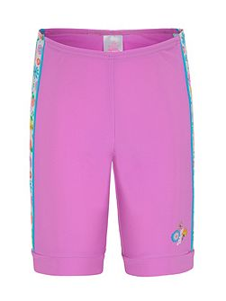 Girls UPF50+ Bloom Bike Short
