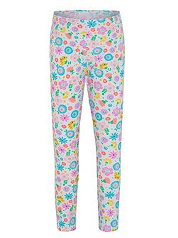 Girls UPF50+ Bloom Leggings