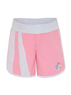 Girls UPF50+ Bloom Long Boardshort