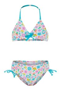 Platypus Australia Girls UPF50+ Bloom Drawstring Bikini