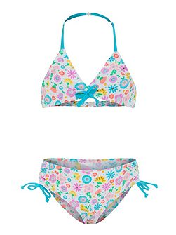 Girls UPF50+ Bloom Drawstring Bikini