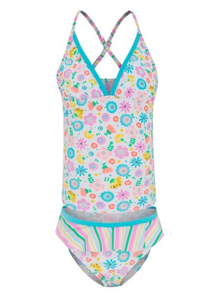 Platypus Australia Girls UPF50+ Bloom Singlet Kini