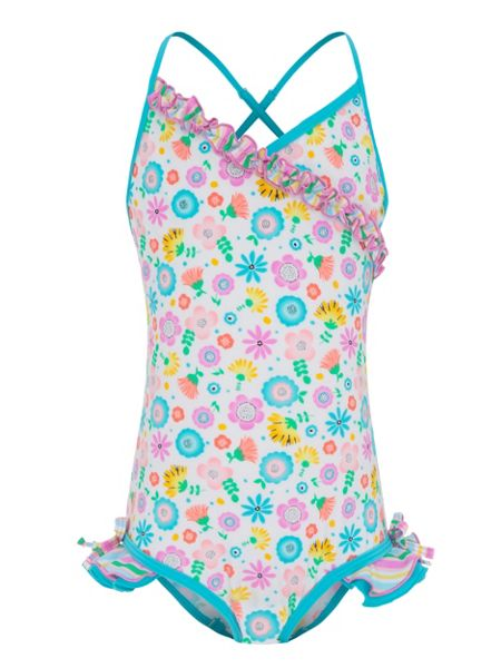 Platypus Australia Girls UPF50+ Bloom Fru Fru Swimsuit
