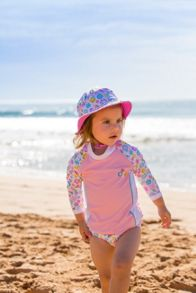 Platypus Australia Girls UPF50+ Bloom Bucket Hat