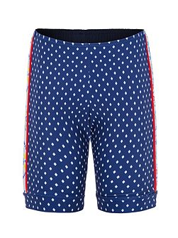 Girls UPF50+ Kaleidoscope Bike Short