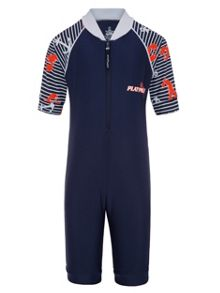 Platypus Australia Boys UPF50+ Lobster Catch Sunsuit