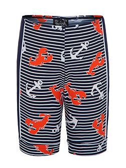 Boys UPF50+ Lobster Catch Bike Short