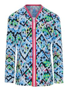 Platypus Australia Girls UPF50+ Illusion LS Sun Jacket