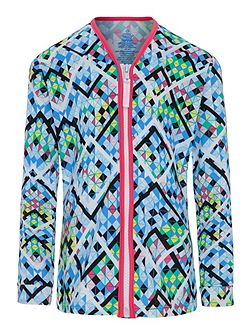 Girls UPF50+ Illusion LS Sun Jacket