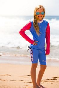 Platypus Australia Girls UPF50+ Illusion Bike Short