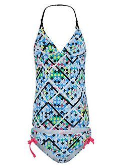Girls UPF50+ Illusion Loop Singlet Kini