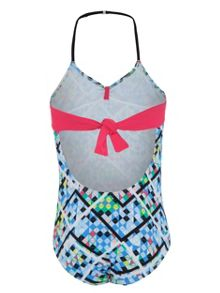 Platypus Australia Girls UPF50+ Illusion Halter Swimsuit