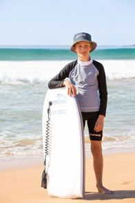 Platypus Australia Boys UPF50+ Graphic Waves Bike Short