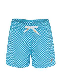 Boys UPF50+ Graphic Waves Swim Short
