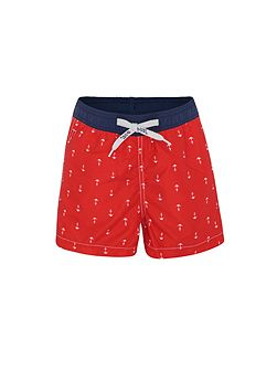 Boys UPF50+ Maritime Swim Short