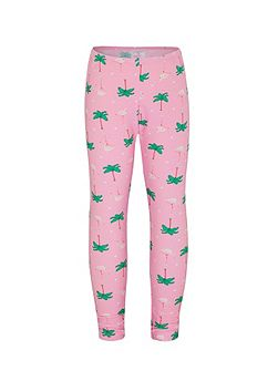 Girls UPF50+ Flamingo Leggings