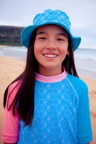Platypus Australia Girls UPF50+ Bucket Hat