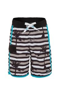 Platypus Australia Boys UPF50+ Optic Stripe Slim Boardshorts