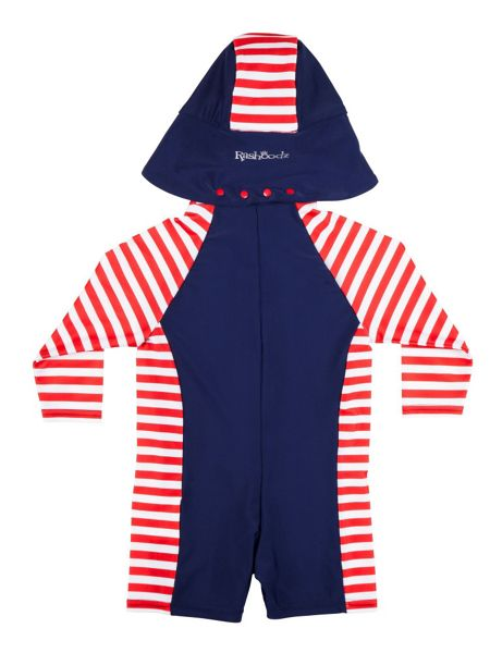 Rashoodz Kids sunsuit with stripe print