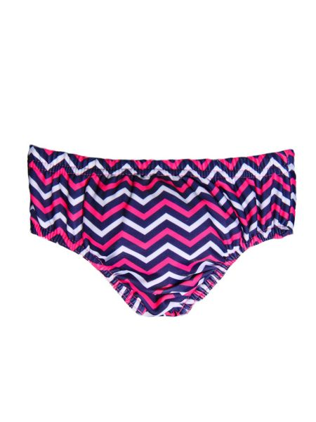 Rashoodz Girl`s chevron reusable swim nappy