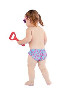 Girl`s Swim Nappy Diaper