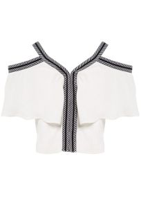 Bardot Junior Girls Cream Frill Gigi Top